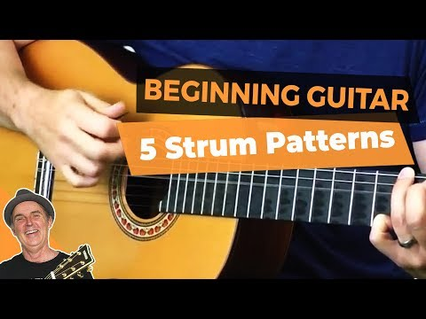 Guitar songs with chords and strumming patterns