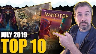 Top 10 Hottest Board Games: July 2019