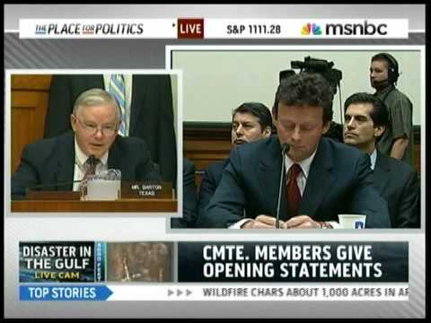 Rep. Joe Barton Apologizes To BP For $20 Billion Claims Fund