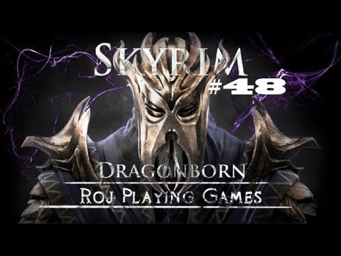The Elder Scrolls V: Skyrim #48 Dragonborn DLC Kiciuch w Kopalni Kruczej Pały (Roj-Playing Games!)