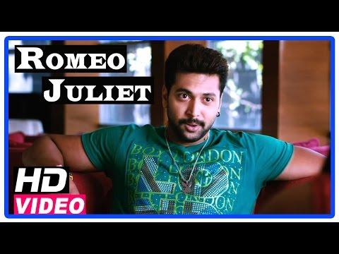 Romeo Juliet Tamil Movie   Scenes   Hansika got engaged with Vamsi   Jayam Ravi