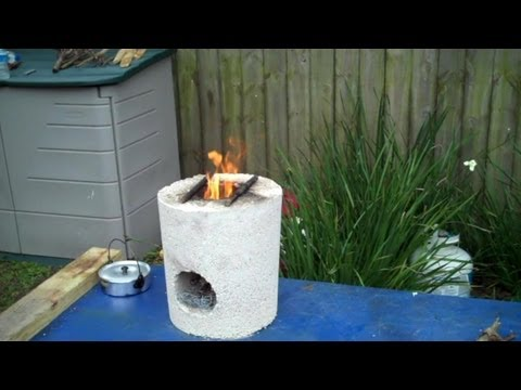 Rocket Stove Test Boiling Water How To Make Amp Do