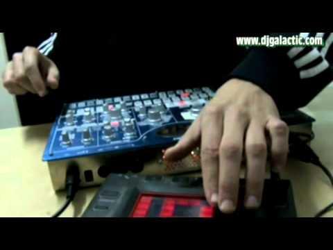 Vitrual (Korg Electribe MX1) DJ Galactic