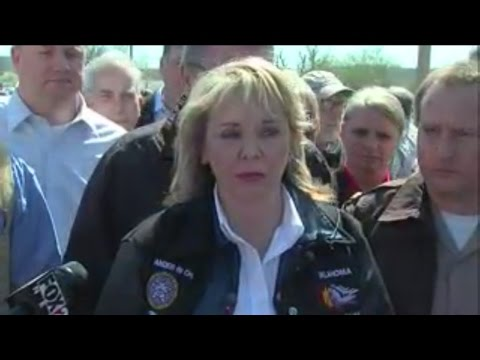 Gov. Mary Fallin talks about storms that tore across Oklahoma March 25, 2015