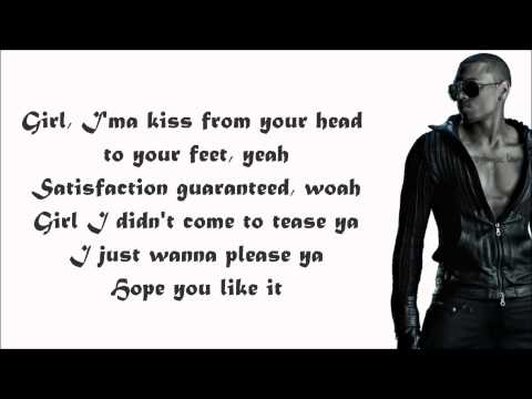 Keri Hilson - One Night Stand (feat. Chris Brown) Lyrics Video video