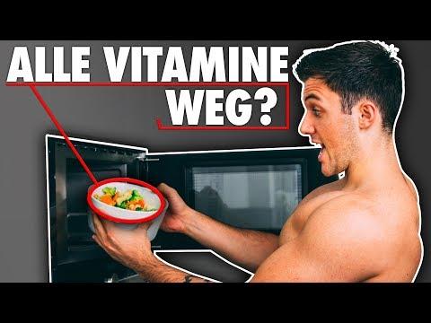 Gehen Vitamine beim Kochen von Gemüse kaputt? Wie schlimm sind Mikrowellen?