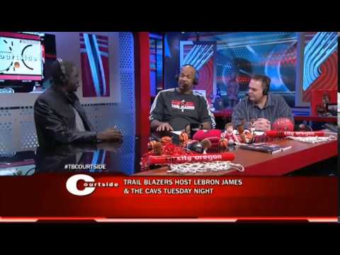 Trail Blazers Courtside: Chris Haynes On LeBron And Season Predictions