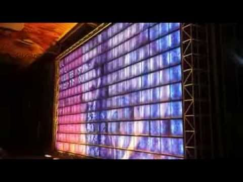 Led Xxxx Video Xxx Wall acrylic Led Billboard For Building Decoration advertising video