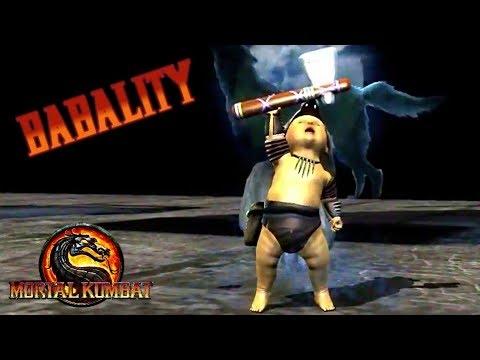 Mortal Kombat 9  Babality всех персонажей