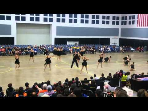 Donna High School D'ettes Team Modern at ADTS Competition 2014