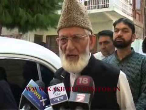 Unfortunate that India cancelled FS level talks: Geelani