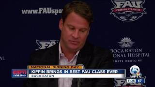 Kiffin Signs Top Recruiting Class