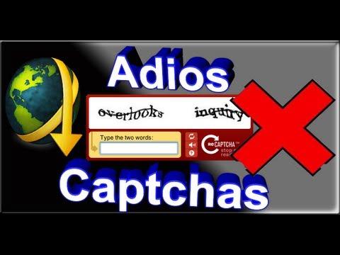 Como quitar los Captchas del Jdownloader 2012