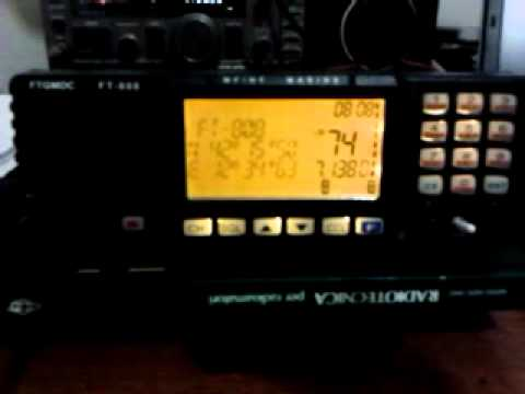 FEITONG FT 808 IN QSO. HF MADE IN CHINA -IW9GYY-