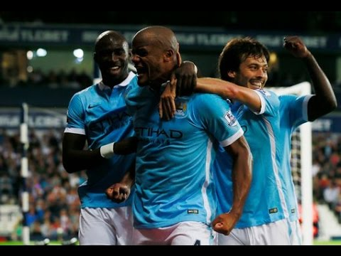 Manchester City vs West Bromich Albion 3-0 All Goals REVIEW 10/8/2015