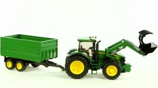 download lagu John Deere 7930 Tractor And Tandem Axle Tipping Trailer gratis