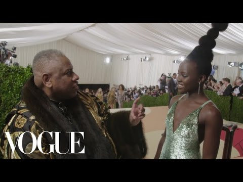 Lupita Nyong'o on Her Matrix and Nina Simone-Inspired Look | Met Gala 2016
