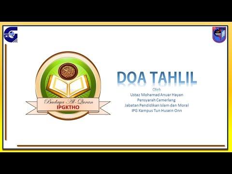 Gambar doa tahlil