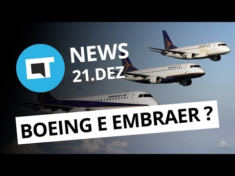 Boeing pode comprar Embraer; Apple admite iPhone 6s e 7 mais lentos e + [CT News]