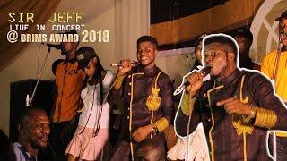 sir jeff omoruyi's live performance at drims award 2018