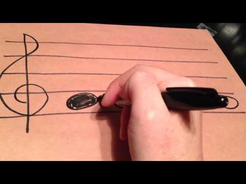 How to Draw Music Notes