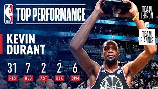 Kevin Durant Takes Home KIA All-Star Game MVP Honors! | 2019 NBA All-Star