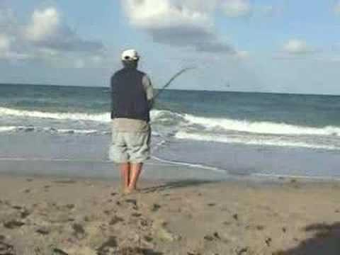 Juno beach pier fishing crew 050107 2 youtube for Juno pier fishing report