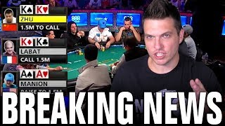 AA vs. KK vs. KK For The FINAL TABLE Of The 2018 WSOP Main Event!