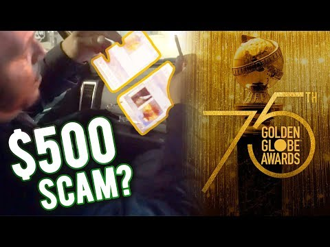 SNEAKING INTO THE GOLDEN GLOBE AWARDS FOR $500?