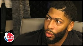 Anthony Davis is 'still learning' how to play with LeBron James | 2019 NBA Sound