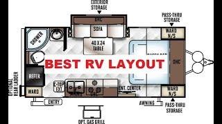 BEST RV LAYOUT EVER, 21FBRS MICRO LITE, Flagstaff