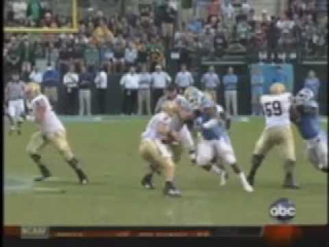 North Carolina Football Tar Heels 2008 Highlights Video