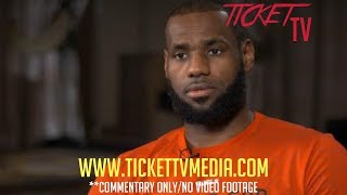 LEBRON JAMES DENIES BEEF WITH LAKERS! (REPORT) (NO VIDEO)