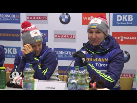#Hochfilzen2017: Women's Relay Press Conference