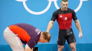 Weightlifting. Mens 85 kg