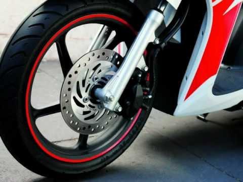 New 2012 Honda Wave 110cc Scooter