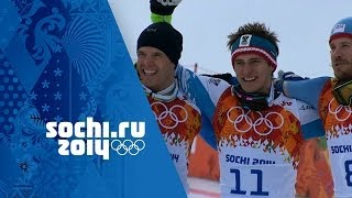 Men's Alpine Skiing - Downhill - Matthias Mayer Wins Gold  | Sochi 2014 Winter Olympics