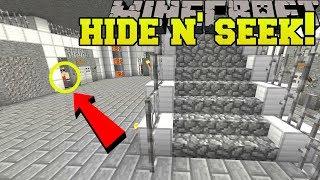 Minecraft: PRISONERS HIDE AND SEEK!! - Morph Hide And Seek - Modded Mini-Game