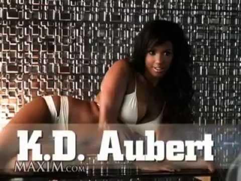K.D. Aubert Maxim Photo Shoot (Behind the scenes)