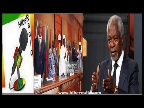 Hiber Radio-Kofi Anan critizaized African dictators still not ready to leave office peacefully