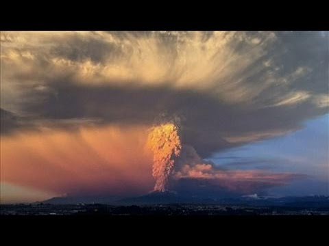 Time-Lapse: Southern Chile Volcano Erupts