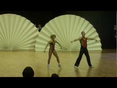 Olga Sbitneva & Ivan Youdin - World Masters Lommel 2012