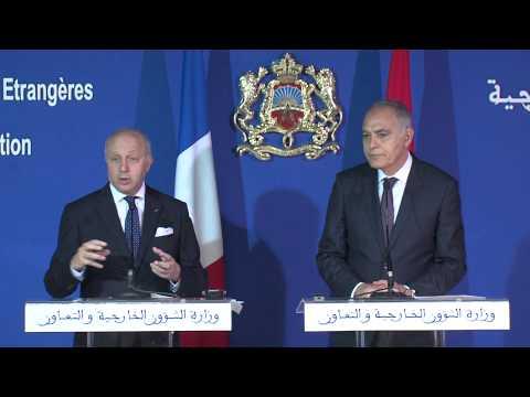 Visite de Laurent Fabius au Maroc: Annonce de l'agenda franco-marocain