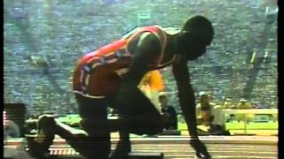 Olympics - 1984 Los Angeles - Track - Mens 4 x 100 m Relay Finals - USA Gold 2  imasportsphile