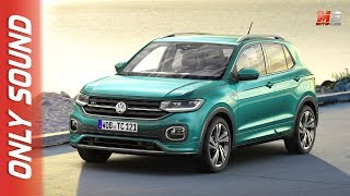 NEW VOLKSWAGEN T-CROSS 2019 - FIRST TEST DRIVE ONLY SOUND