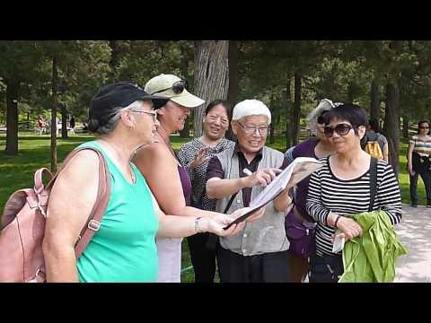Singing in a Beijing Park