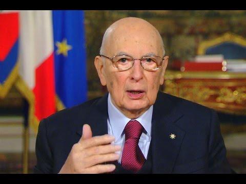 Napolitano Discorso Fine Anno 2015 Messaggio