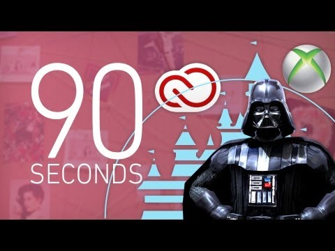 Adobe, Xbox, and Star Wars games - 90 Seconds on The Verge