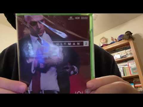 Hitman 2 Xbox One Unboxing