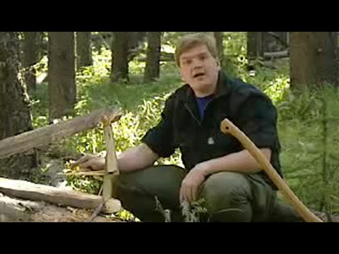 Squirrel Trap &amp; Hobo-Fishing - Ray Mears Extreme Survival - BBC
